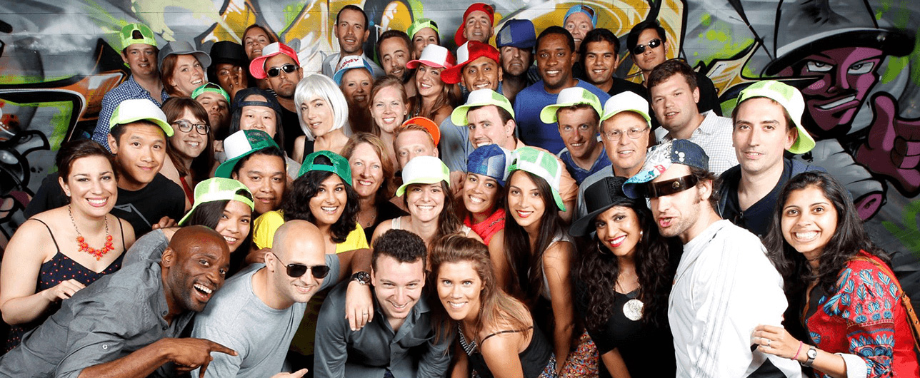 Criteo fun team photo