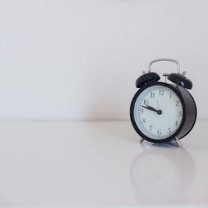 Analogue Clock at 10 to 10