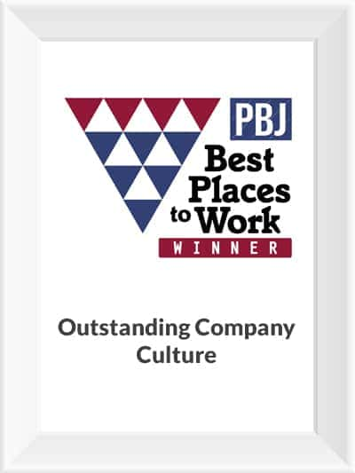 Phoenix Business Journal Best Places to Work Award