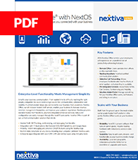 Datasheet for Nextiva Office