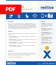 Datasheet for Nextiva vFAX