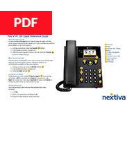 Poly VVX 150 Quick Reference Guide