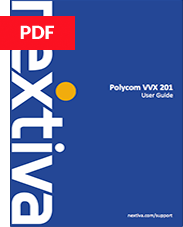 Polycom VVX 201 User Guide