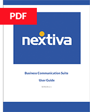 Business Communication Suite User Guide