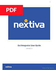 Go Integrator User Guide