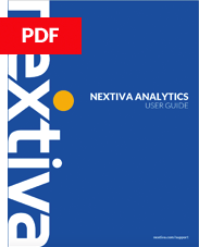 Nextiva Analytics Guide