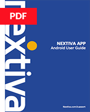 Nextiva App Android User Guide