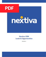 Nextiva Leads & Opportunities