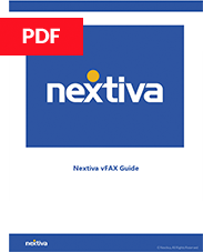 Nextiva vFAX Quick Start Guide
