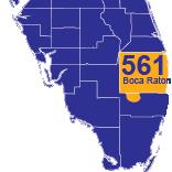 Boca Raton, FL Local Phone Numbers | Area Code 561