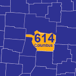 614 Area Code  Columbus Local Phone Numbers