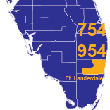 Area Codes 754 and 954