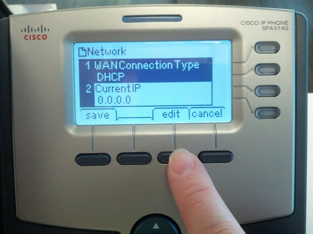 Setting a Static IP Address on a Cisco/Linksys Phone