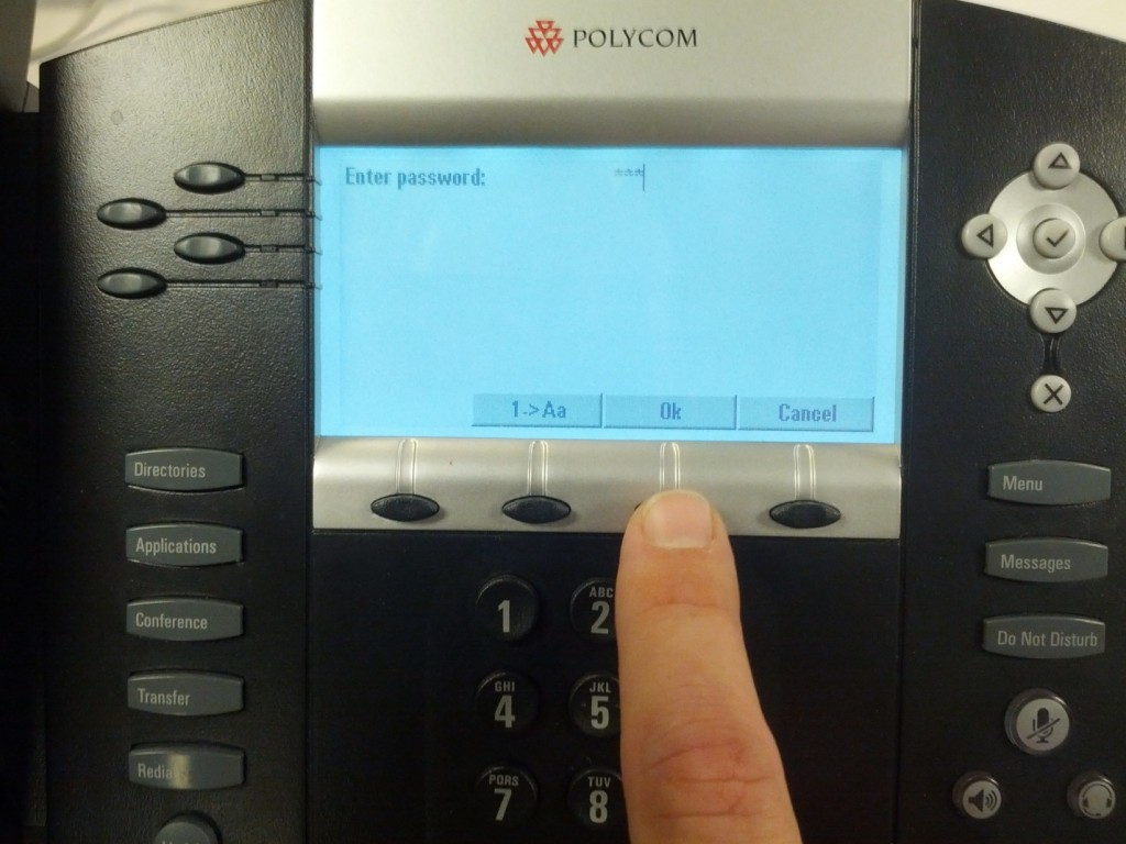 Setting a Static IP for Poly SoundPoint IP Phones | Nextiva