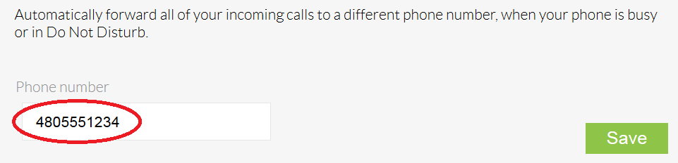 Setting Up Call Forward When Busy | Nextiva Support